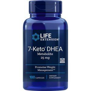 7-Keto DHEA Metabolite 25 mg 100 capsules