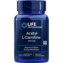 Acetyl-L-Carnitine 500 mg 100 vegetarian capsules