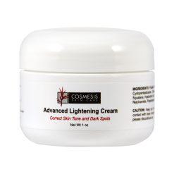 Advanced Lightening Cream minimize the appearance of age spots & uneven pigmentation