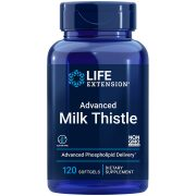 Advanced Milk Thistle supplement supports healthy liver function