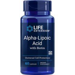 Alpha Lipoic Acid with Biotin 60 capsules