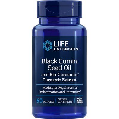 Black Cumin Seed Oil with Bio Curcumin 60 softgels