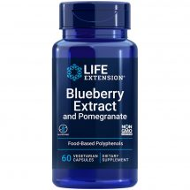 Blueberry Extract and Pomegranate supports arterial health