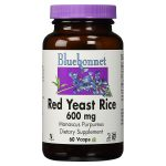 Red Yeast Rice By Bluebonnet Nutrition 600 mg 60 vegetarian capsules