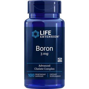 Boron 3 mg 100 vegetarian capsules