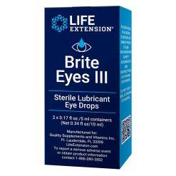 Brite Eyes III Sterile, lubricant eye drops - Life Extension