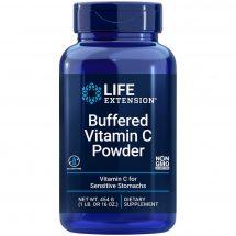 Buffered Vitamin C powder Life Extension