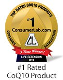 Life Extension Super Ubiquinol CoQ10 award winning formula