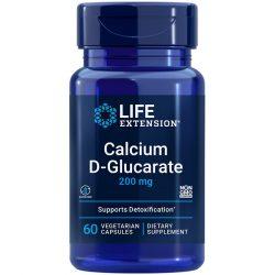 Calcium D-Glucarate 60 capsules unique nutrient that helps flush unwanted compounds