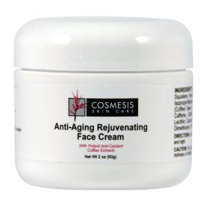 Anti-Aging Rejuvenating Face Cream 2 oz, Cosmesis Skin Care, defend against environmental exposure