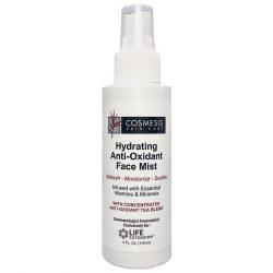 Hydrating Anti-Oxidant Face Mist 4 oz, Rejuvenate with moisture balance