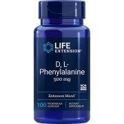DL-Phenylalanine 500 mg 100 vegetarian capsules