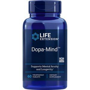 Dopa-Mind 60 vegetarian tablets Life Extension supplement