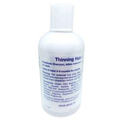 Dr. Proctor's Advanced Thinning Hair Treatment hair regrowth shampoo, 8 oz supplement facts