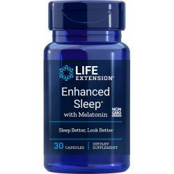 Enhanced Sleep with Melatonin 30 capsules