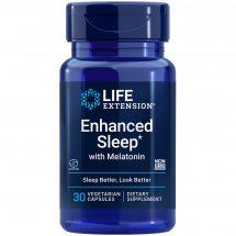 Enhanced Sleep with Melatonin 30 capsules for occasional sleeplessness