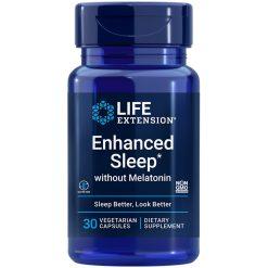 Enhanced Sleep without Melatonin 30 capsules supplement for sleep & stress support