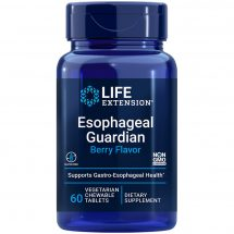 Esophageal Guardian Berry Flavored 60 chew-able tablets for long-lasting relief from gastric distress