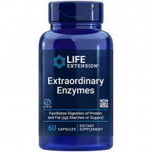 Extraordinary Enzymes 60 capsules Stay comfortable after meals
