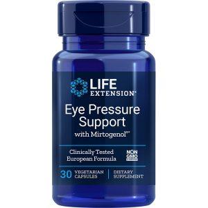 Eye Pressure Support with Mirtogenol 30 vegetarian capsules