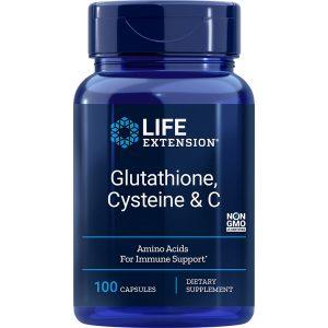 Glutathione Cysteine & C 100 vegetarian capsules