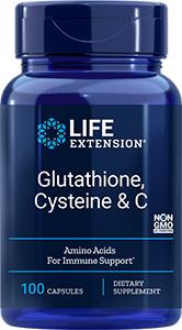 Glutathione, Cysteine & C Life Extension
