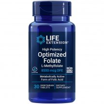 High Potency Optimized Folate is a cardiovascular health supplement that also supports cognitive health