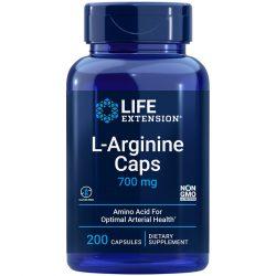 L-Arginine Caps 700 mg 200 capsules for optimal arterial health