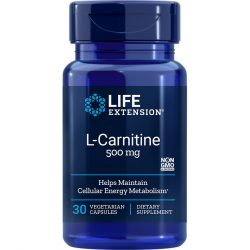 L Carnitine 500 mg 30 capsules
