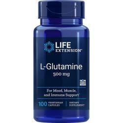 L-Glutamine 500 mg 100 vegetarian capsules