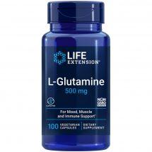 L-Glutamine 100 vegetarian capsules supports muscle & immune health