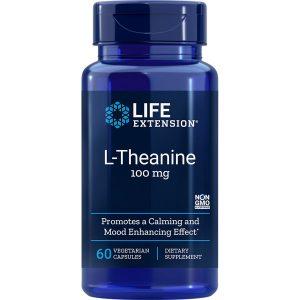 L-Theanine 100 mg 60 vegetarian capsules