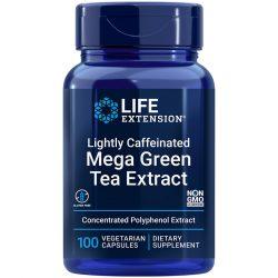Lightly Caffeinated Mega Green Tea Extract, 100 vegetarian capsules