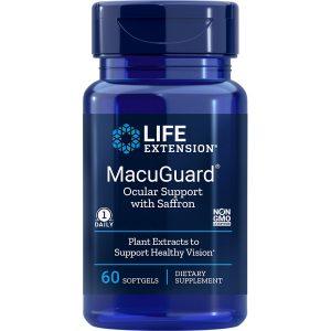 MacuGuard Ocular Support with Saffron 60 softgels
