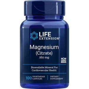 Magnesium Citrate 160 mg 100 capsules