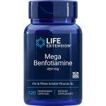 Mega Benfotiamine 250 mg 120 vegetarian capsules
