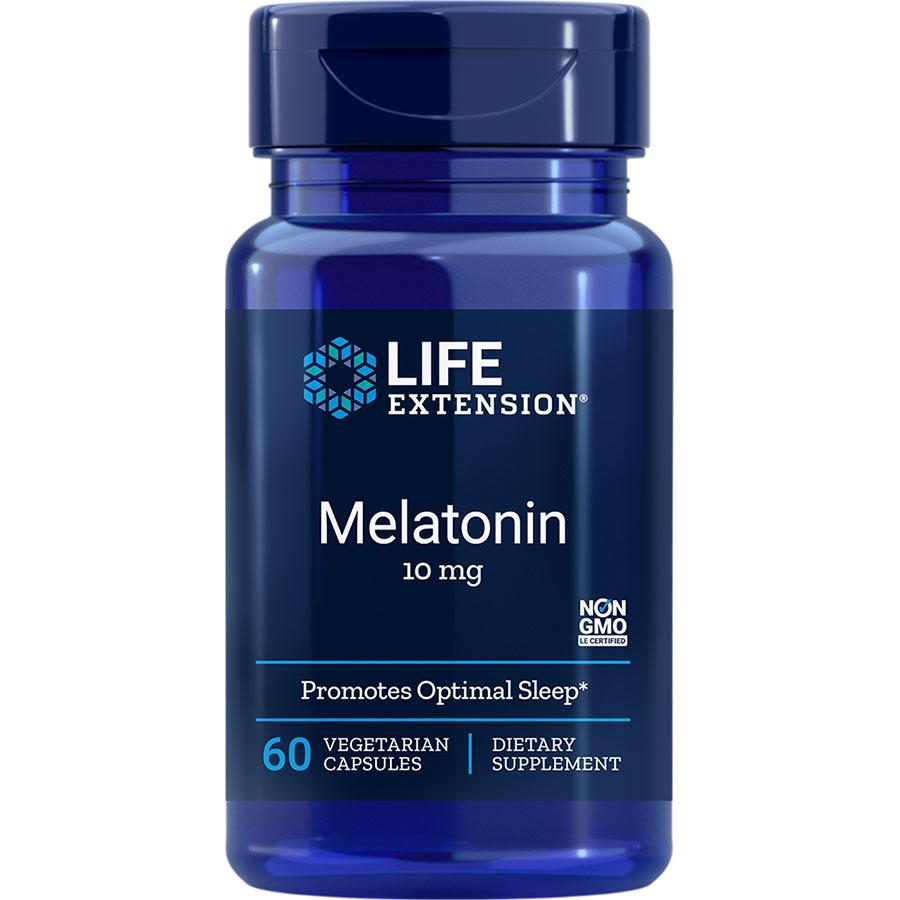 Melatonin 10 mg 60 vegetarian capsules