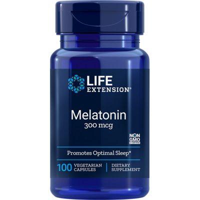 Melatonin 300 mcg 100 vegetarian capsules