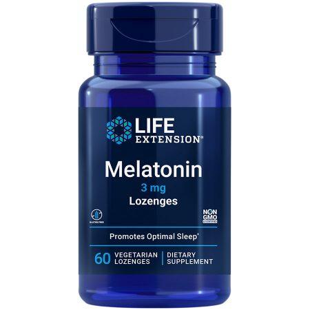 Melatonin 3 mg lozenges for optimal sleep & cellular health