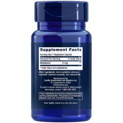 Melatonin 3 mg 60 vegetarian capsules supplement facts