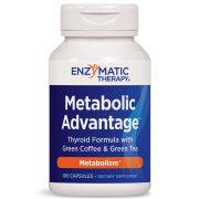 Metabolic Advantage Thyroid Formula Enzymatic Therapy 100 Capsules