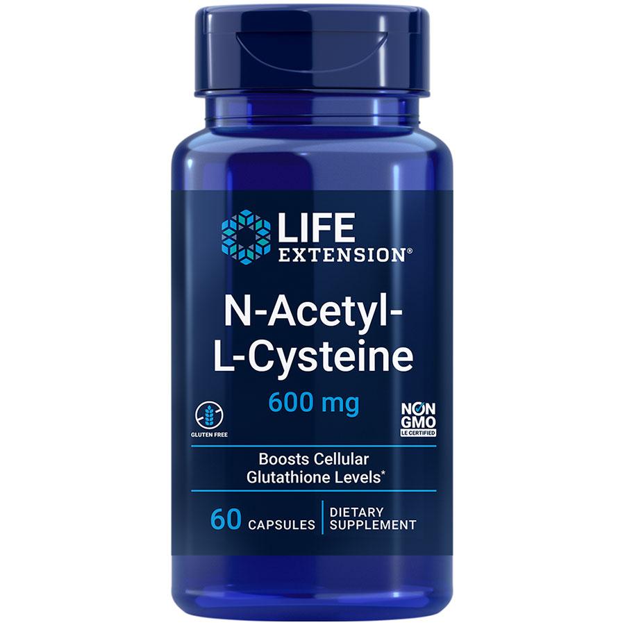 N-acetyl L-Cysteine powerful antioxidant for liver & immune health supplement