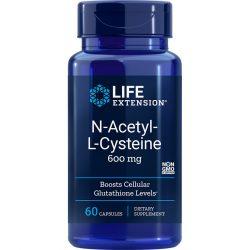 N-acetyl L-Cysteine 600 mg 60 vegetarian capsules