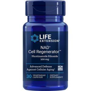 NAD+ Cell Regenerator Nicotinamide Riboside 100 mg 30 vegetarian capsules