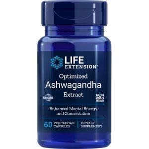 Optimized Ashwagandha Extract 60 vegetarian capsules