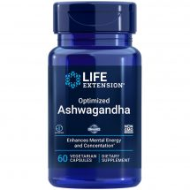 Optimized Ashwagandha Extract, enhances mental energy and concentration
