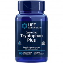 Optimized Tryptophan Plus 90 vegetarian capsules for healthy sleep support