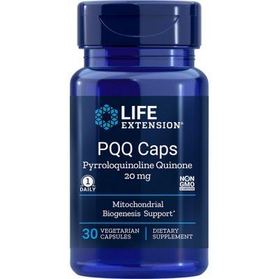 PQQ Caps 20 mg 30 vegetarian capsules