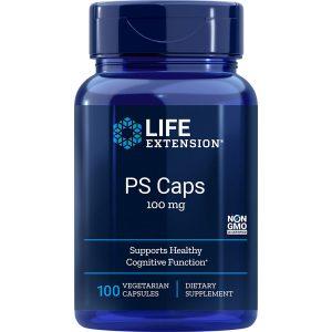 PS Phosphatidylserine Caps 100 mg 100 vegetarian capsules