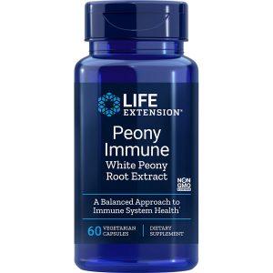 Peony Immune with white peony root extract 60 vegetarian capsules